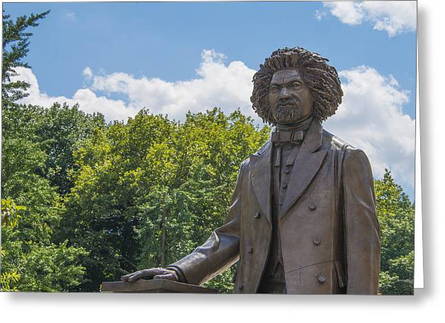 Frederick Douglass Greeting Cards - Frederick Douglass Greeting Card by Theodore Jones