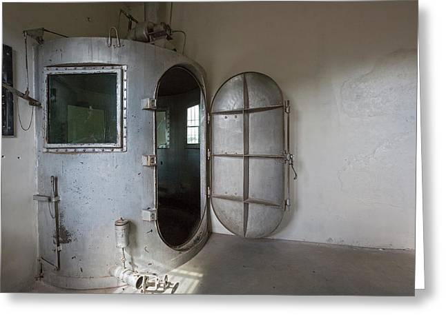 Gas Chamber At Wyoming Frontier Prison Greeting Card by Jim West