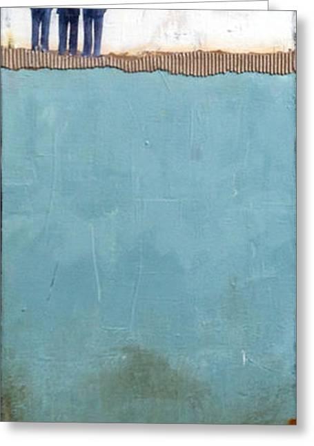 Gaze Greeting Card by Susan McCarrell