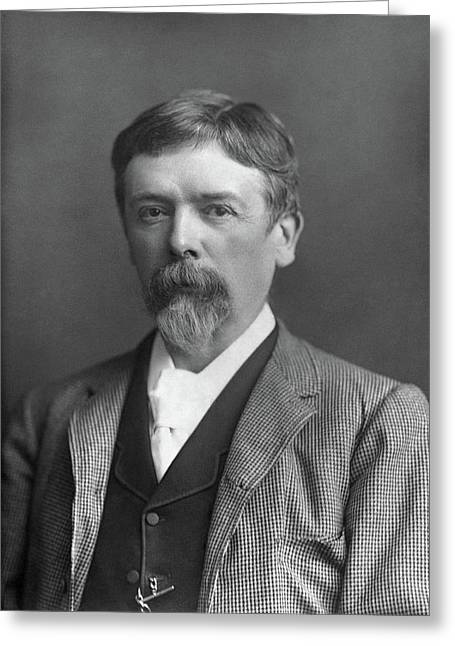 George Du Maurier (1834-1896) Greeting Card by Granger