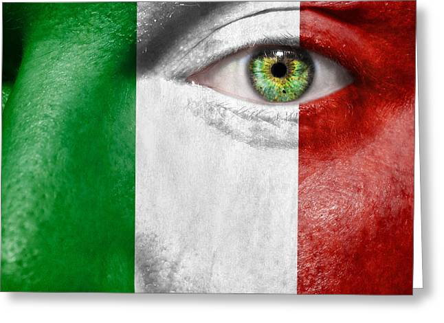 Fanatic Photographs Greeting Cards - Go Italy Greeting Card by Semmick Photo