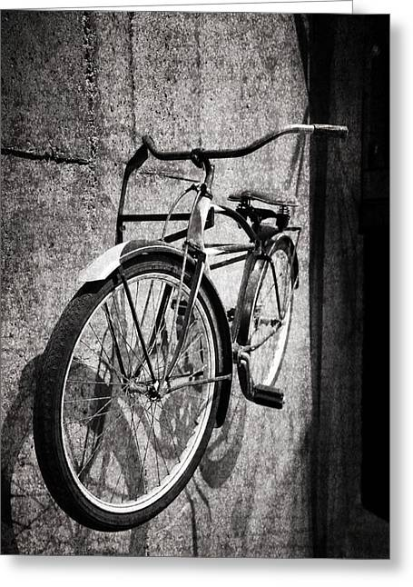 Vintage Bicycle Greeting Cards - Good Old Days Greeting Card by Dan Sproul