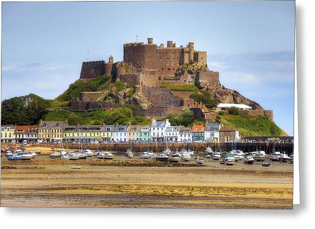 Gorey Greeting Cards - Gorey castle - Jersey Greeting Card by Joana Kruse