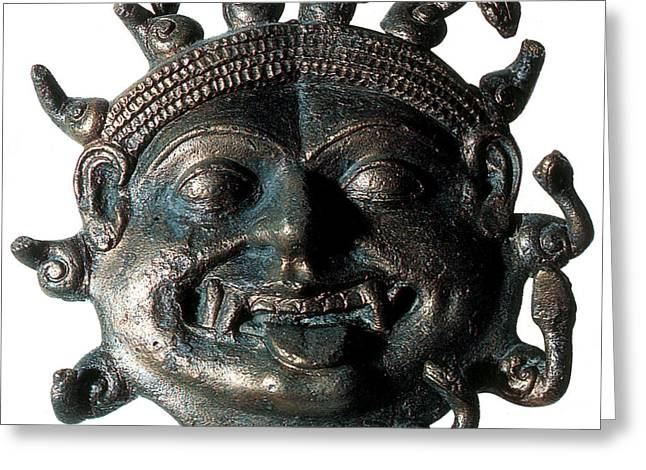 Gorgon, Legendary Creature Greeting Card by Photo Researchers
