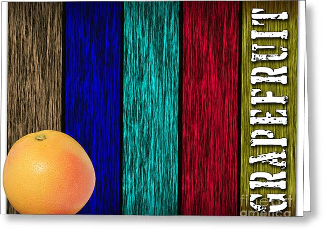 Fruits Greeting Cards - Grapefruit Greeting Card by Marvin Blaine