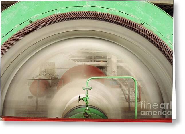 Production Industry Greeting Cards - Grinding Mill In Cement Plant Greeting Card by RIA Novosti