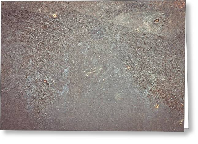 Beige Abstract Greeting Cards - Grungy background Greeting Card by Tom Gowanlock