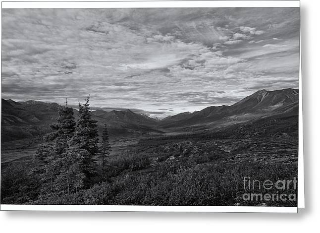 Mountainscapes Greeting Cards - Guardians Of The Valley Greeting Card by Priska Wettstein