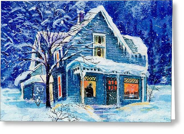 New Year Greeting Cards - Happy New Year Greeting Card by Victor Gladkiy