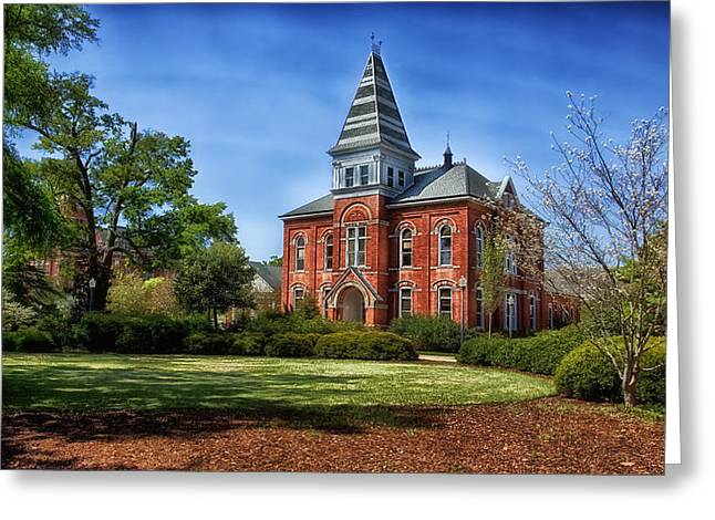 Hargis Hall - Auburn University Greeting Card by Mountain Dreams