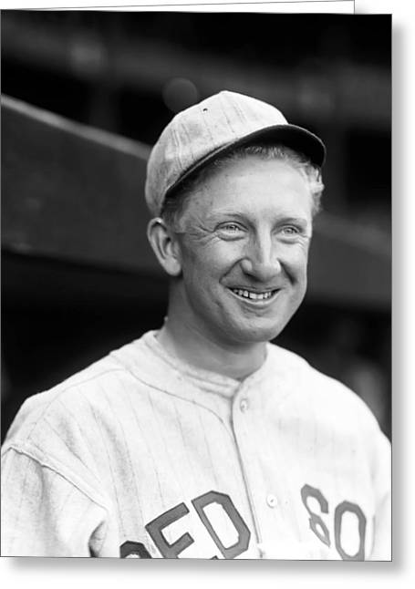 American League Greeting Cards - Harold J. Hal Wiltse Greeting Card by Retro Images Archive