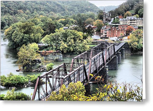 Md Greeting Cards - Harpers Ferry Greeting Card by JC Findley
