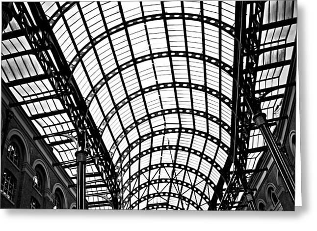 Hay's Galleria roof Greeting Card by Elena Elisseeva
