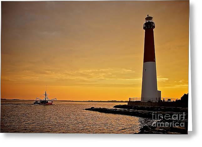 Lbi Greeting Cards - Heading Out Greeting Card by Mark Miller