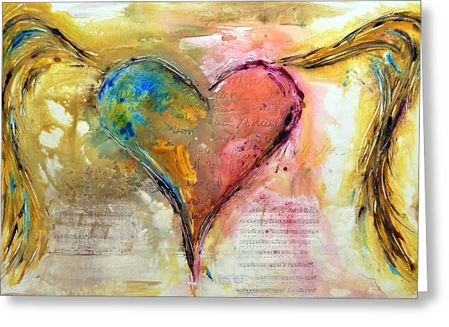Family Love Greeting Cards - Heart of a Lover Greeting Card by Ivan Guaderrama