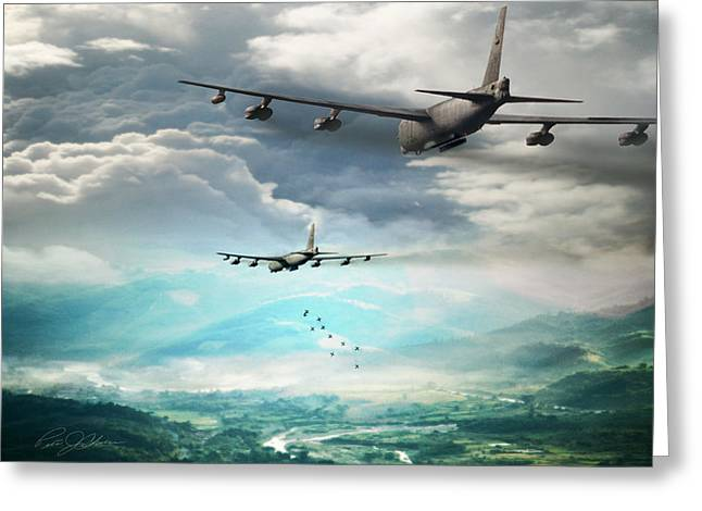 B-52 Greeting Cards - Heavy Metal Greeting Card by Peter Chilelli