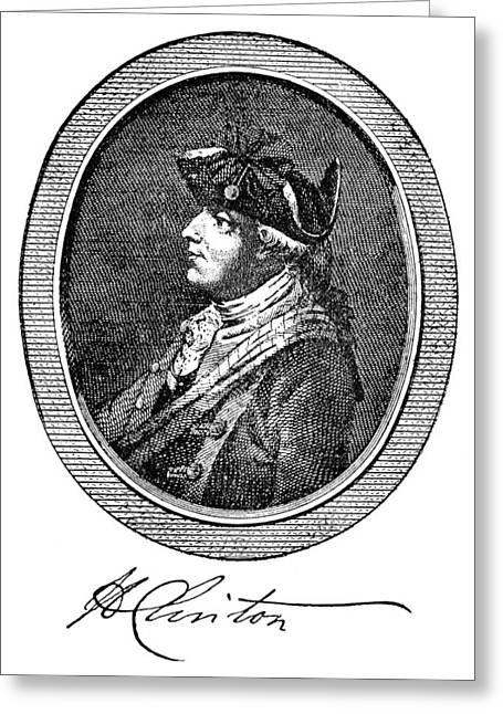 Autograph Greeting Cards - Henry Clinton (1738-1795) Greeting Card by Granger