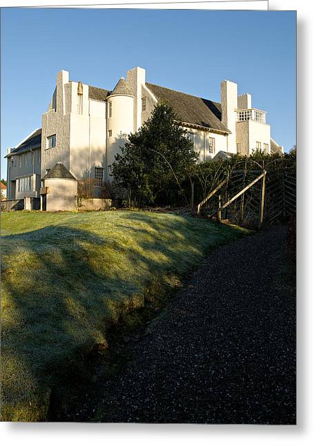 Rennie Greeting Cards - Hill House Greeting Card by Stephen Taylor