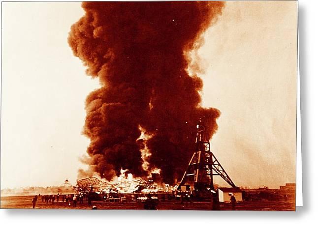 Hindenburg Disaster Greeting Card by Us Navy