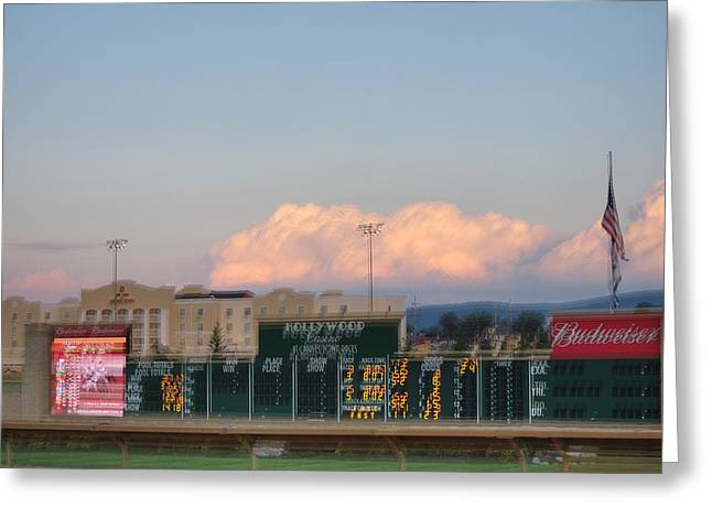 Betting Greeting Cards - Hollywood Casino at Charles Town Races - 12125 Greeting Card by DC Photographer
