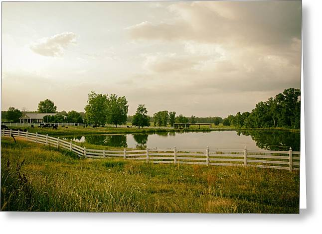 Alabama Greeting Cards - Home on the Farm in Alabama Greeting Card by Mountain Dreams