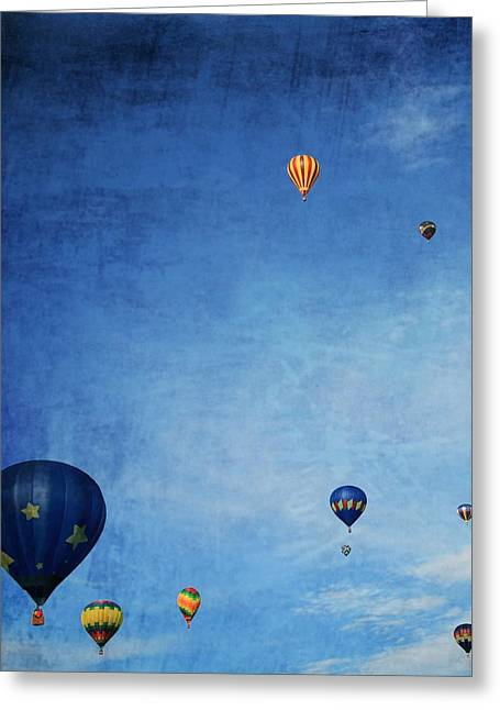 Thin Greeting Cards - Hot Air Greeting Card by Dan Sproul