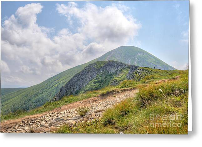 Carpathian Mountains Greeting Cards - Hoverla Greeting Card by Martin Capek