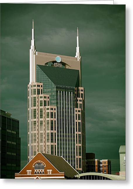 Old And New Architecture Greeting Cards - Icons of Nashville Greeting Card by Mountain Dreams