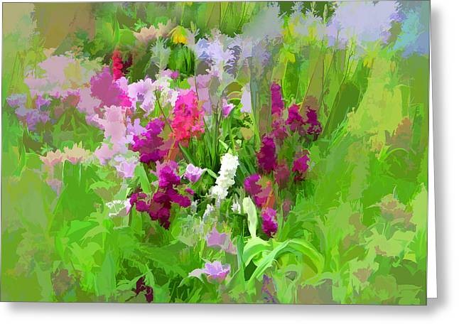 Whimsy Greeting Cards - Impressions of Spring Greeting Card by Jessica Jenney