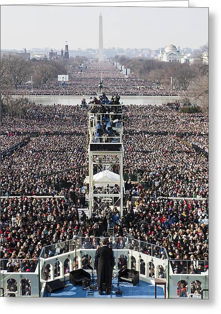 Acceptance Speech Greeting Cards - Inauguration Greeting Card by JP Tripp