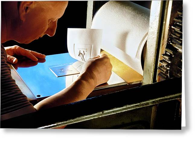 Intaglio Printmaking Greeting Card by Patrick Landmann