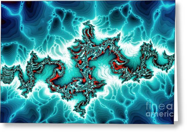Abstract Nature Greeting Cards - Intersting fractal forms Greeting Card by Odon Czintos