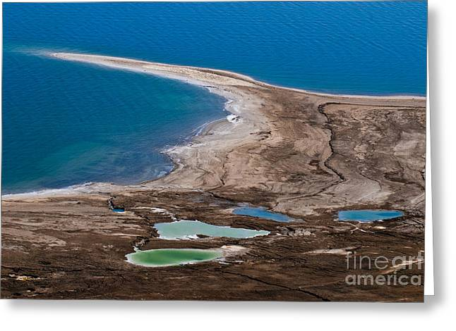 Dead Sea Greeting Cards - Israel Dead Sea  Greeting Card by Dan Yeger