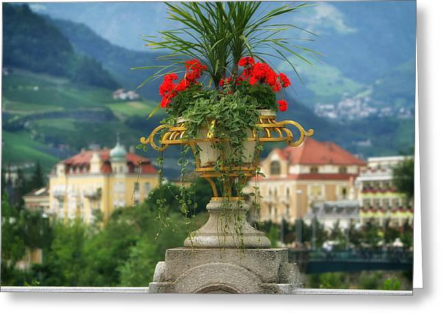 Ledge Greeting Cards - Italian Warmth Greeting Card by Mountain Dreams