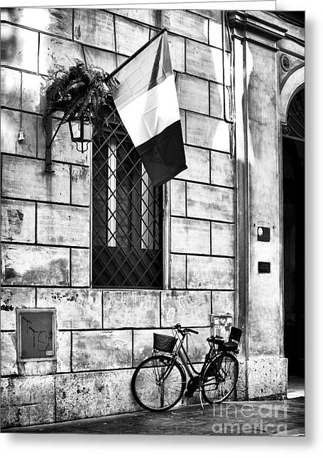 Interior Scene Greeting Cards - Italy Greeting Card by John Rizzuto