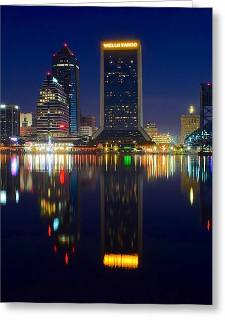 Jacksonville Greeting Cards - Jacksonville Eight by Ten Greeting Card by Frozen in Time Fine Art Photography