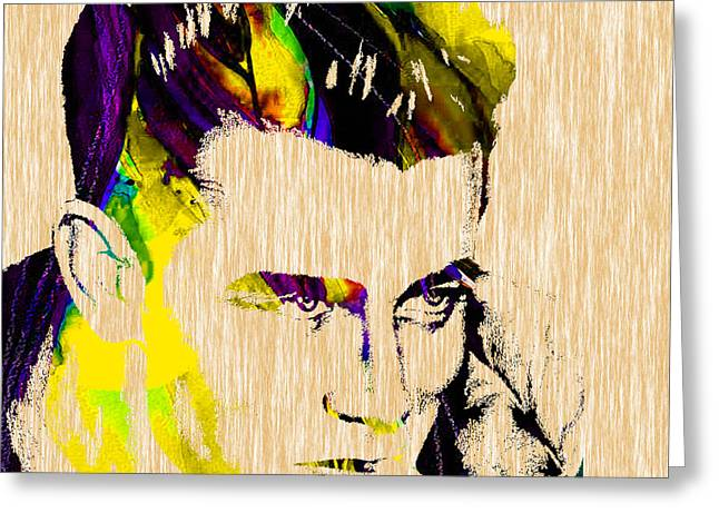 Collectors Greeting Cards - James Dean Collection Greeting Card by Marvin Blaine
