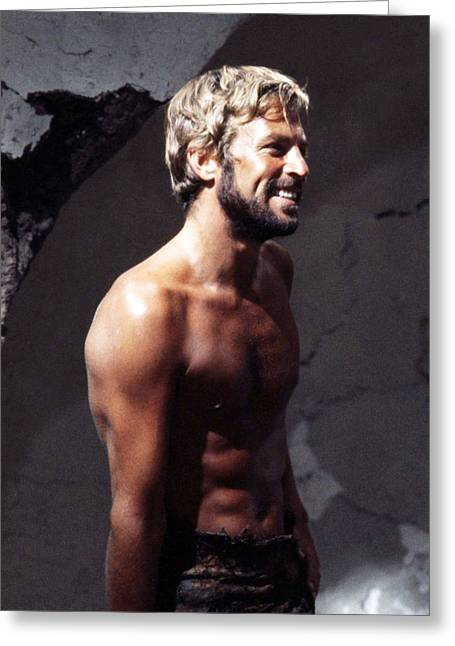The Planets Greeting Cards - James Franciscus in Beneath the Planet of the Apes  Greeting Card by Silver Screen