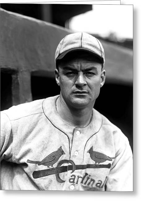 World Series Greeting Cards - James Jimmie Wilson Greeting Card by Retro Images Archive