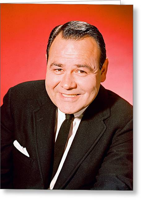 Jonathan Greeting Cards - Jonathan Winters Greeting Card by Silver Screen