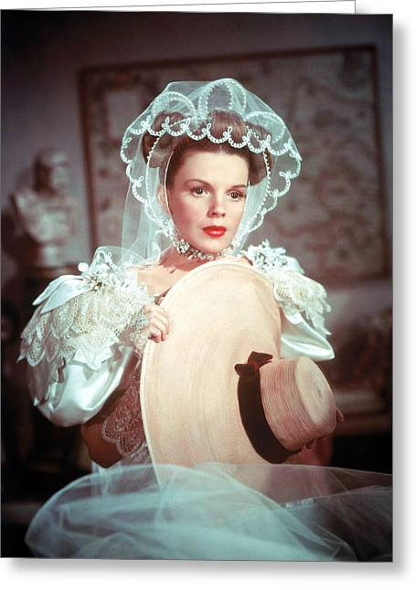 Meet Greeting Cards - Judy Garland in Meet Me in St. Louis  Greeting Card by Silver Screen