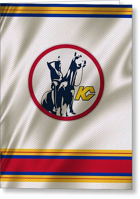 Scout Greeting Cards - Kansas City Scouts Greeting Card by Joe Hamilton