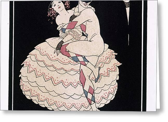 Karsavina Greeting Card by Georges Barbier
