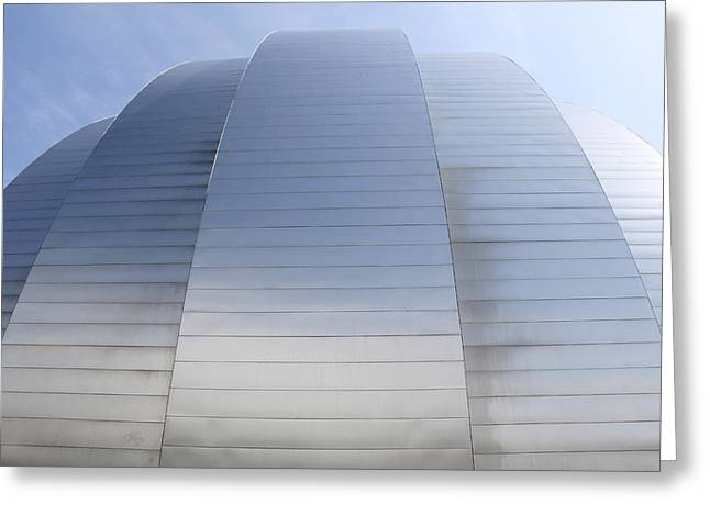 Building Detail Greeting Cards - Kauffman Center for Performing Arts Greeting Card by Mike McGlothlen