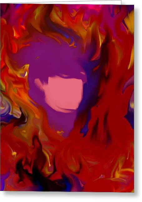 Prayer Warrior Greeting Cards - Keeping Her Cool in the Heat of Battle Greeting Card by Kathleen Luther