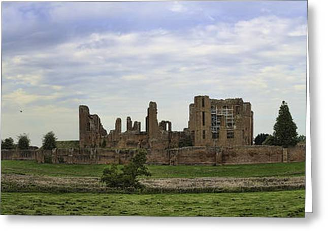 Historic England Greeting Cards - Kenilworth Castle Panorama Greeting Card by Dan McManus