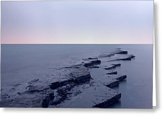Kimmeridge Bay  Greeting Card by Ollie Taylor