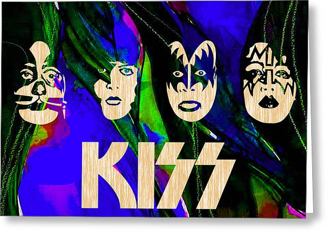 Hip Greeting Cards - Kiss Collection Greeting Card by Marvin Blaine