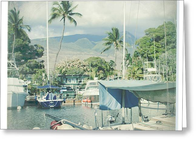 Ocean Art Photography Greeting Cards - Lahaina Greeting Card by Sharon Mau