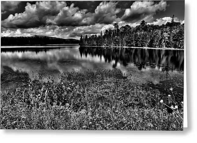 Lake Abanakee in the Adirondacks Greeting Card by David Patterson